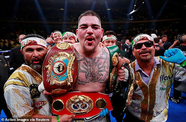 """""""I Look Forward To Ending His Career"""" - Andy Ruiz Vows To Beat Anthony Joshua Again"""