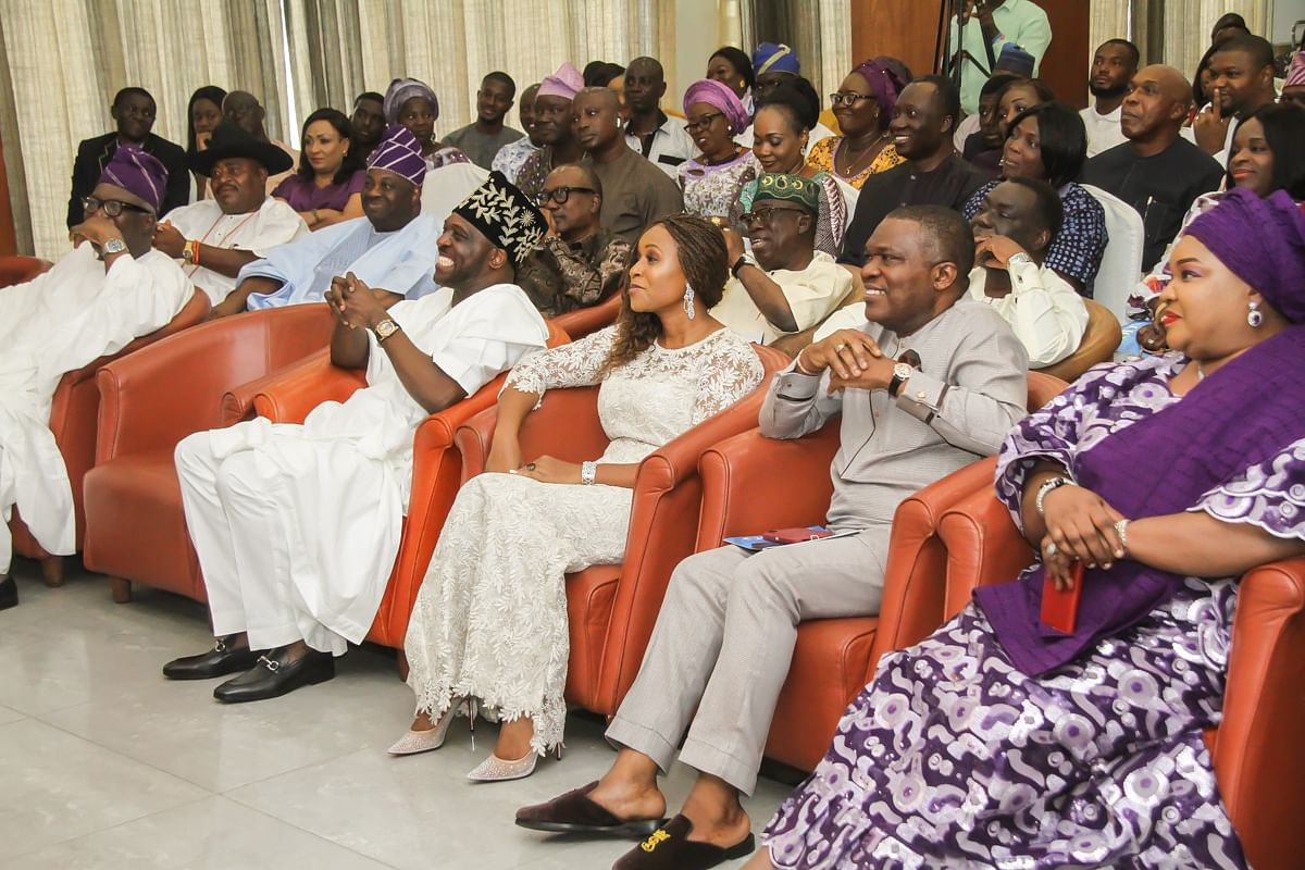 Cross Section of the dignitaries