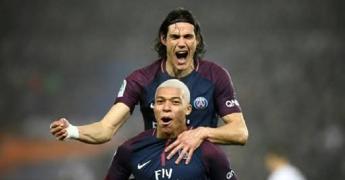PSG Duo, Cavani And Mbappe, Out For Four Weeks Over Injury