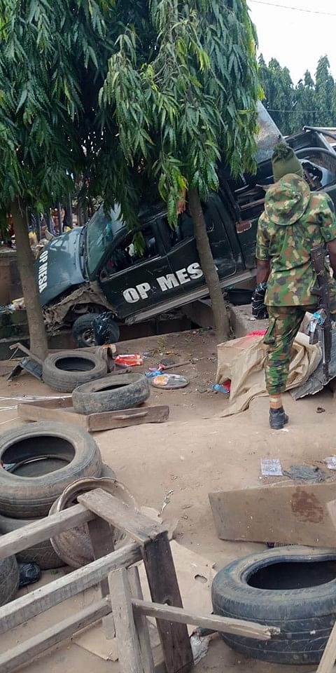 Nigerian Army Vehicle Kills Four In Freak Accident
