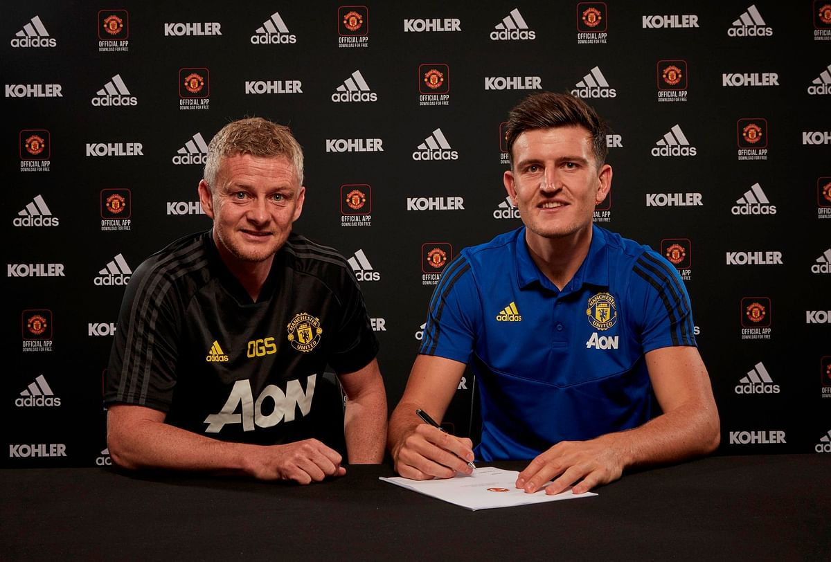 OFFICIAL: Manchester United Unveil Harry Maguire