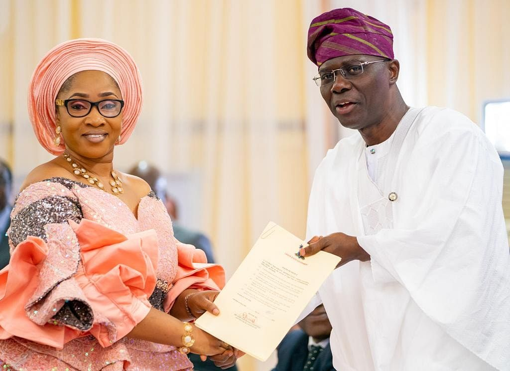 Commissioners and Special Advisers Sworn In By Governor Sanwo-Olu And Their Portfolio