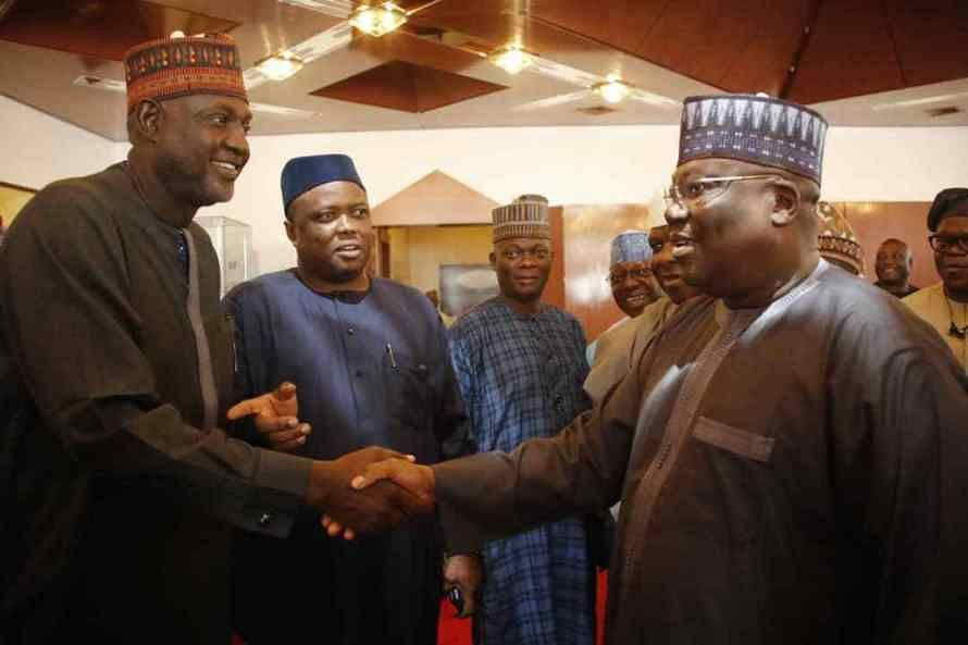Lawan on his departure to Mecca