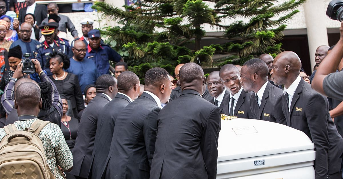 Chief Adolo Okotie-Egoh Buried In Grand Style
