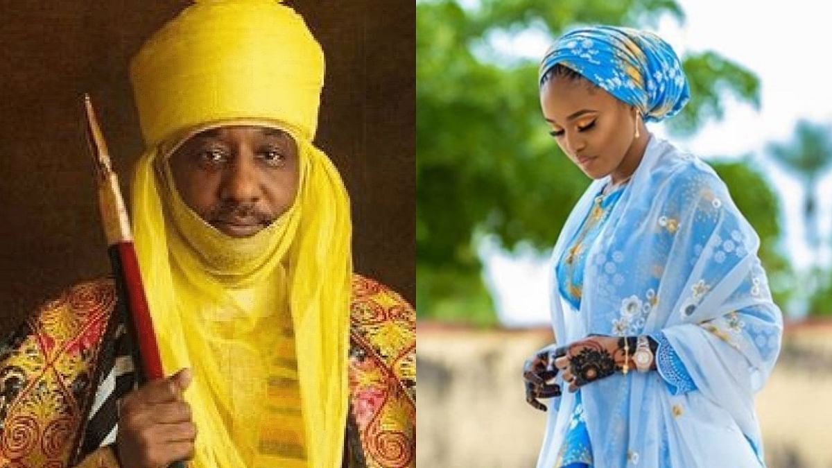 Emir Sanusi and 4th wife