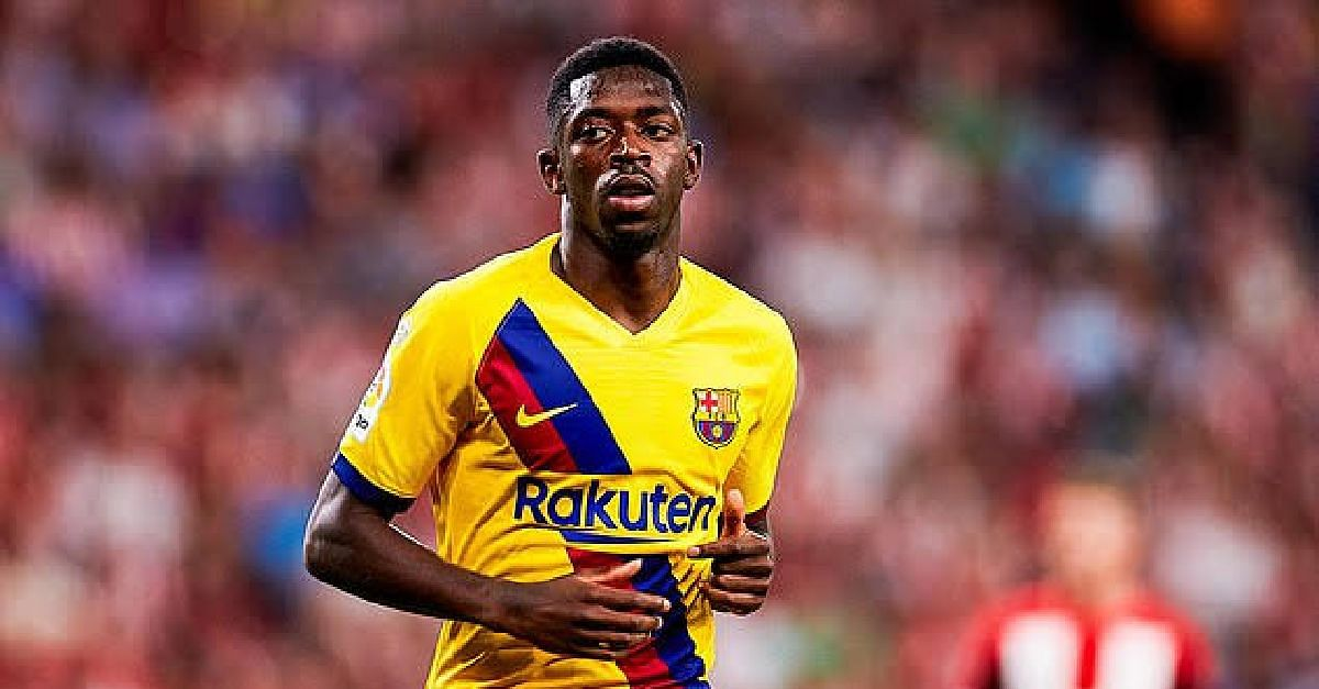 Barcelona Star, Dembele, Sidelined For 5 Weeks With Injury