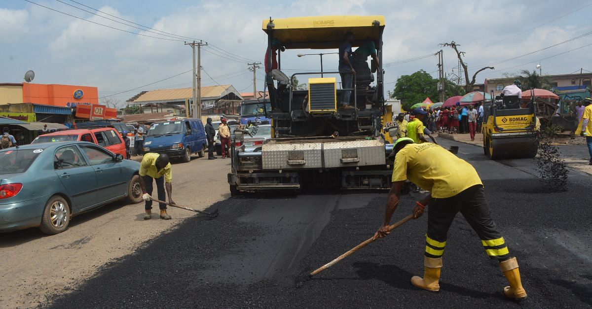 Lagos State Public Works Corporation Completes Rehabilitation Work On Iju Road