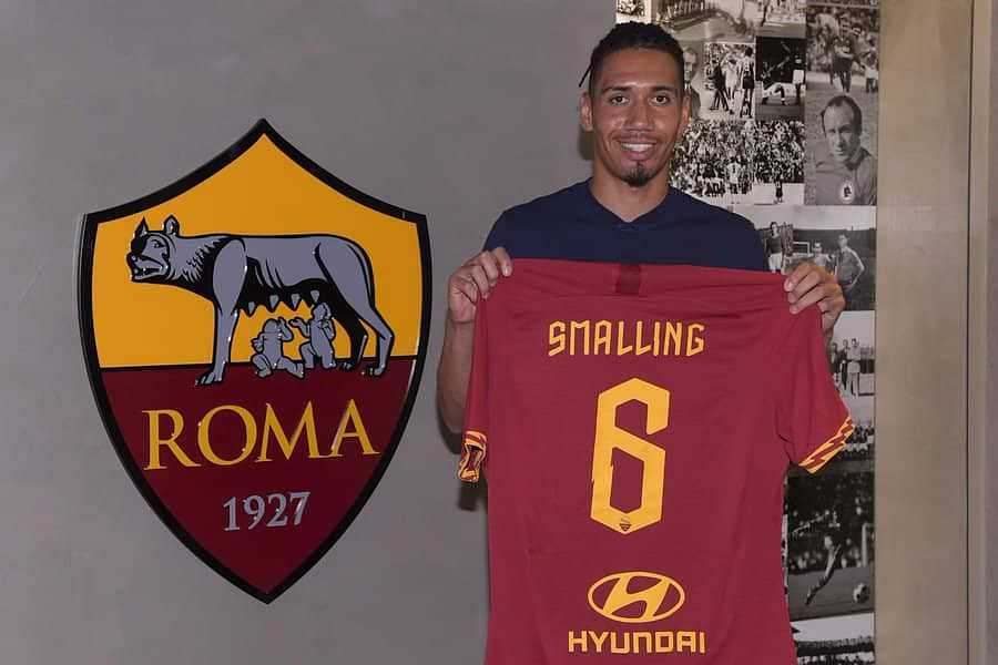 Smalling Completes Medical Ahead Of Roma Loan