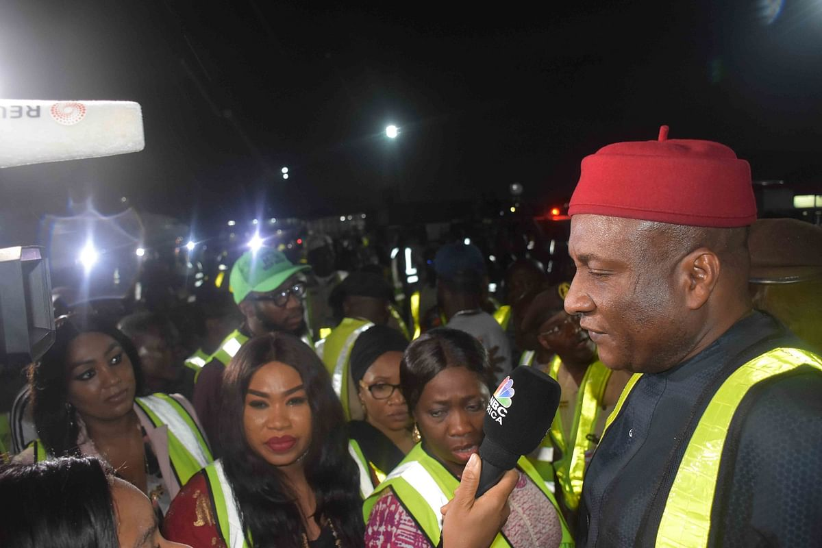 Air Peace CEO Welcomes First Batch of Nigerian Returnees Home