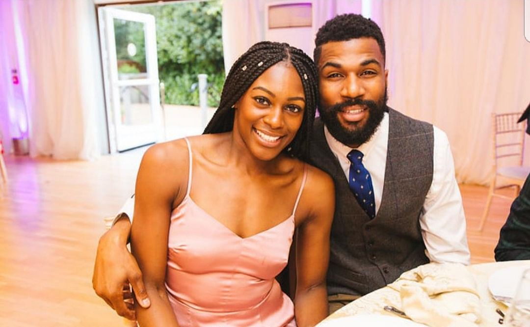 BBNaija: Mike's Wife, Perri Drayton, Celebrates After Hubby Survives Last Eviction