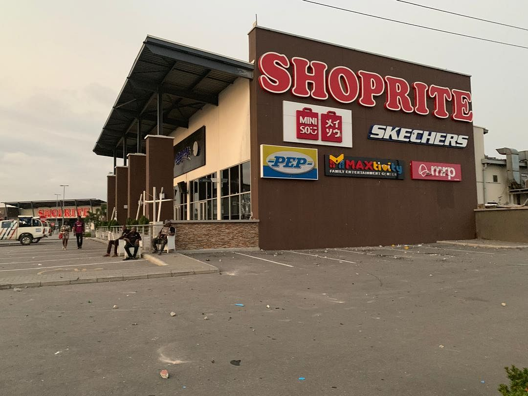 All Shoprite In Lagos Closed