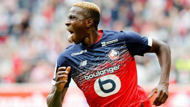 Victor Osimhen Wins Lille Player Of The Month Award