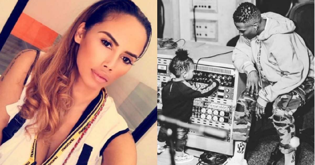 Wizkid and 3rd Baby Mama Jada Pollock Spark Domestic Violence Rumors