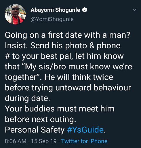 Hotel Serial Killer: Abayomi Shogunle Shares Tips On How To Avoid Being A Victim