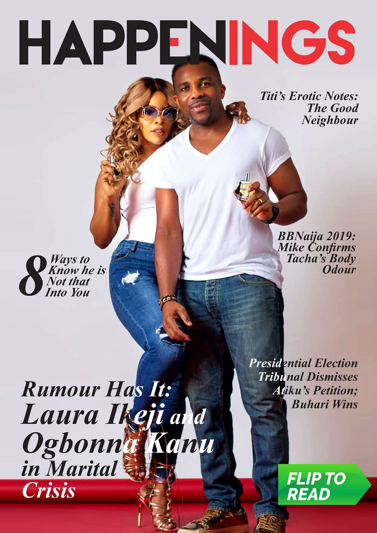 Happenings Newsletter: Laura Ikeji and Ogbonna Kanu's Marriage on Shaky Ground