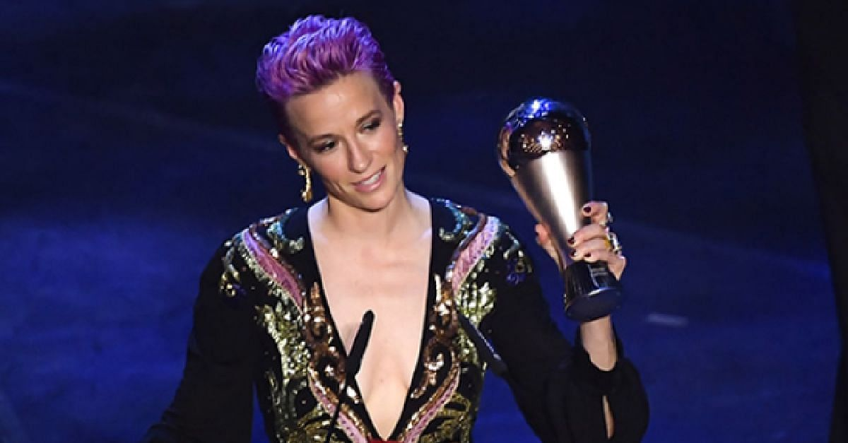VIDEO: Watch The Moment Megan Rapinoe Was Announced As The New Women's Best Player