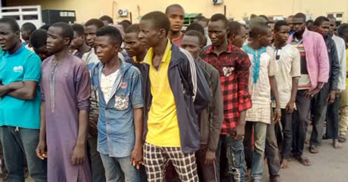 Police Release 123 Northerners Arrested In Lagos