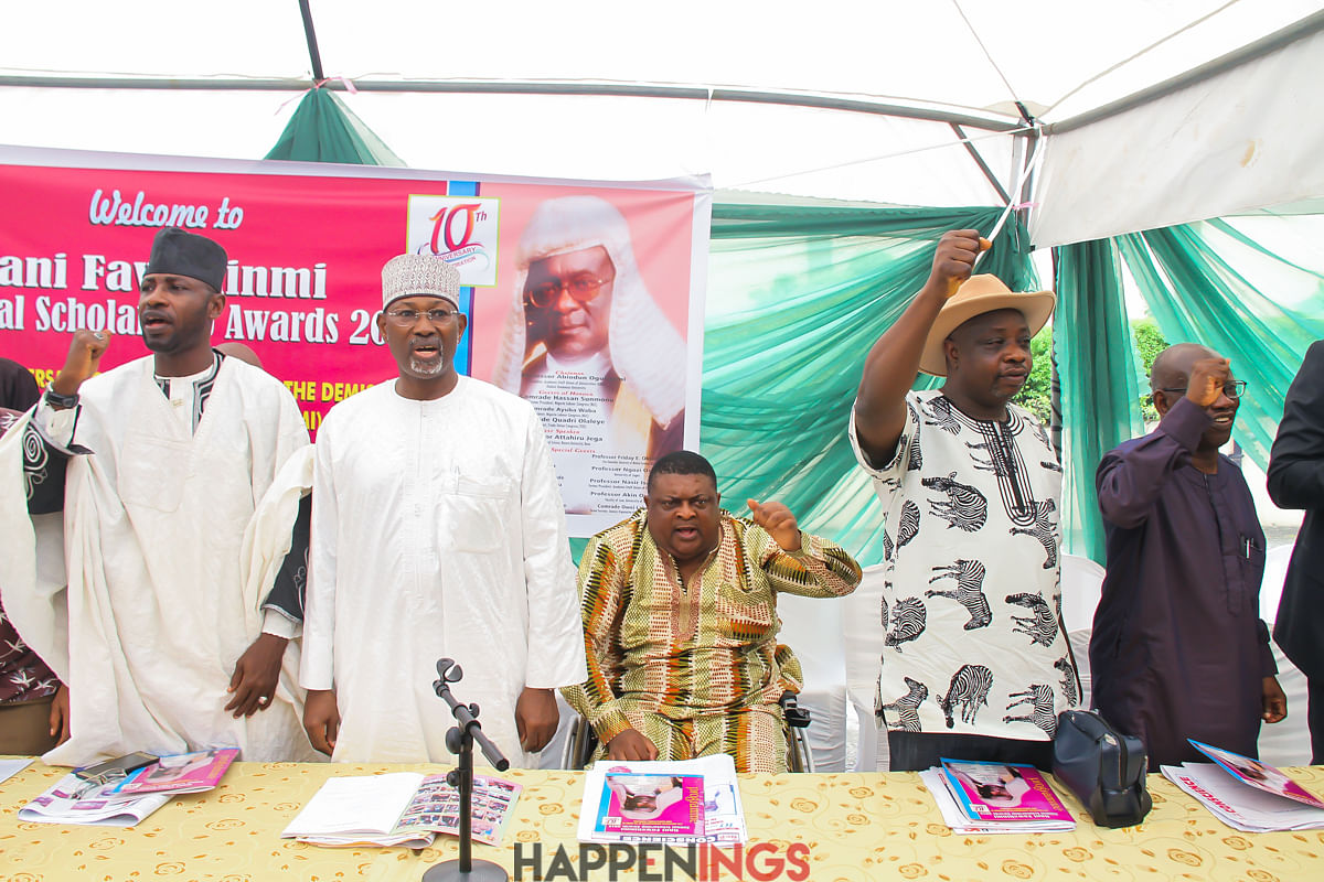 Attahiru Jega, Femi Falana, Others Attend Gani Fawehinmi Annual Scholarship Awards