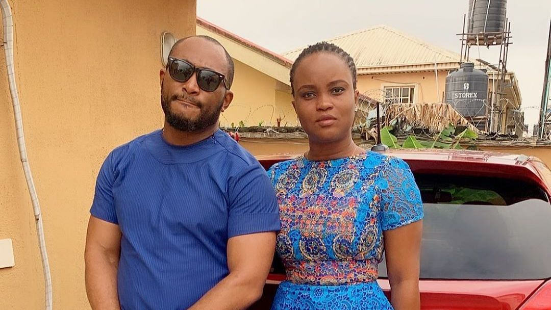 Blossom Chukwujekwu and his wife, Maureen