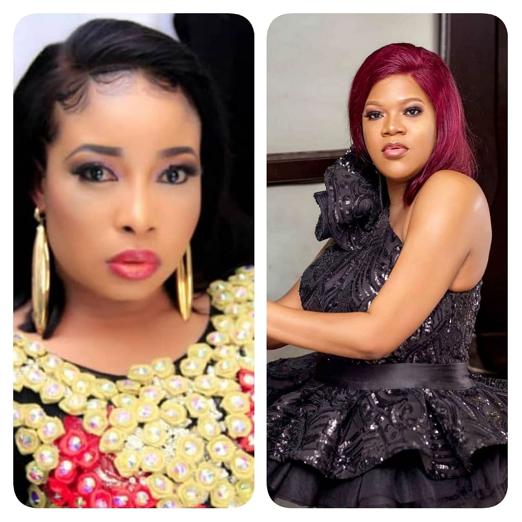 Nkechi Blessing Reacts After Accusations that She Revealed Toyin Abraham's Secrets
