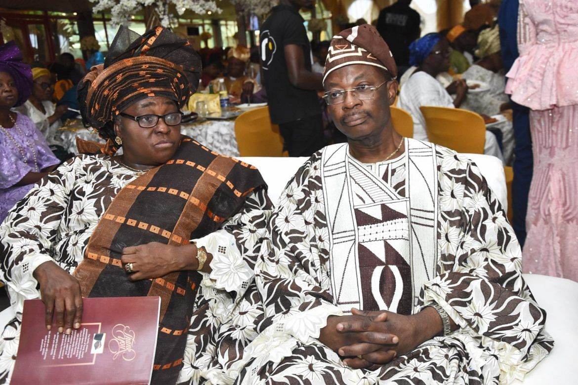 Akingbola and wife