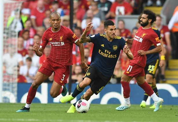 Ceballos In Awe Of Jurgen Klopp's Liverpool After Anfield Defeat.