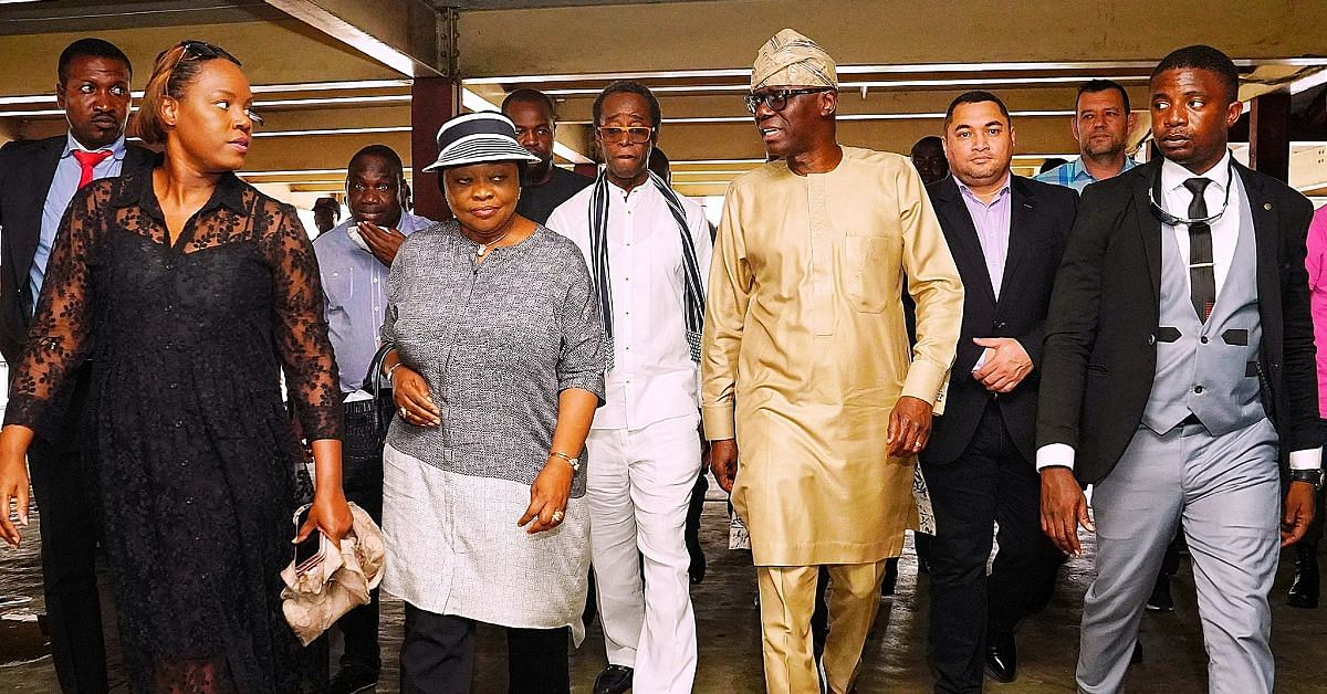 Xenophobia: Sanwo-Olu Visits Malls Looted By Nigerians