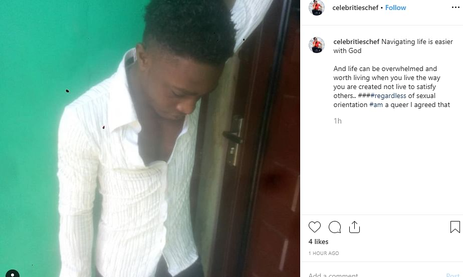 Gay Chef Who Was Gang Raped By Clients Narrates His Ordeal
