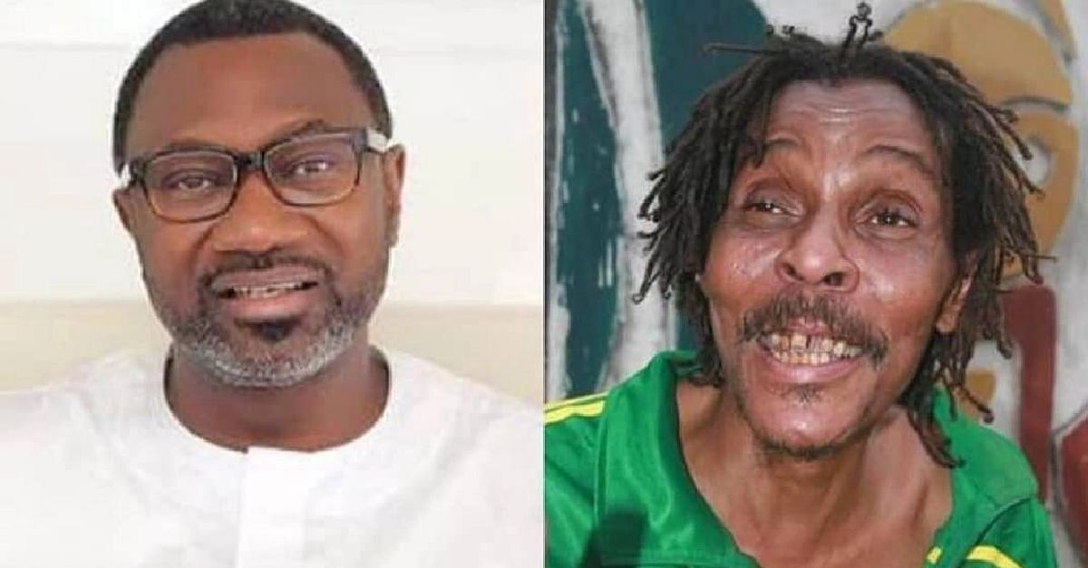 Nigerians Laud Femi Otedola As He Covers Majek Fashek's Medical Expenses
