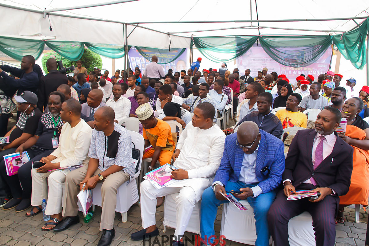 Cross section of the audience