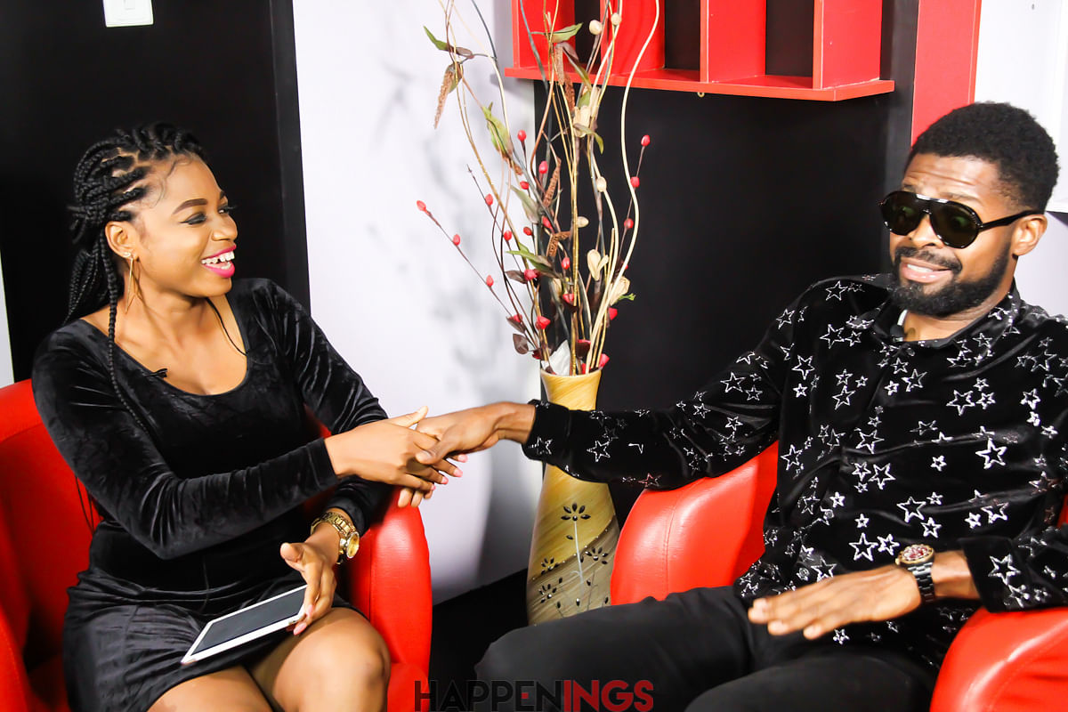 Basketmouth Talks Passion For Comedy, Lord Of The Ribs And More On Happenings TV (Photos)