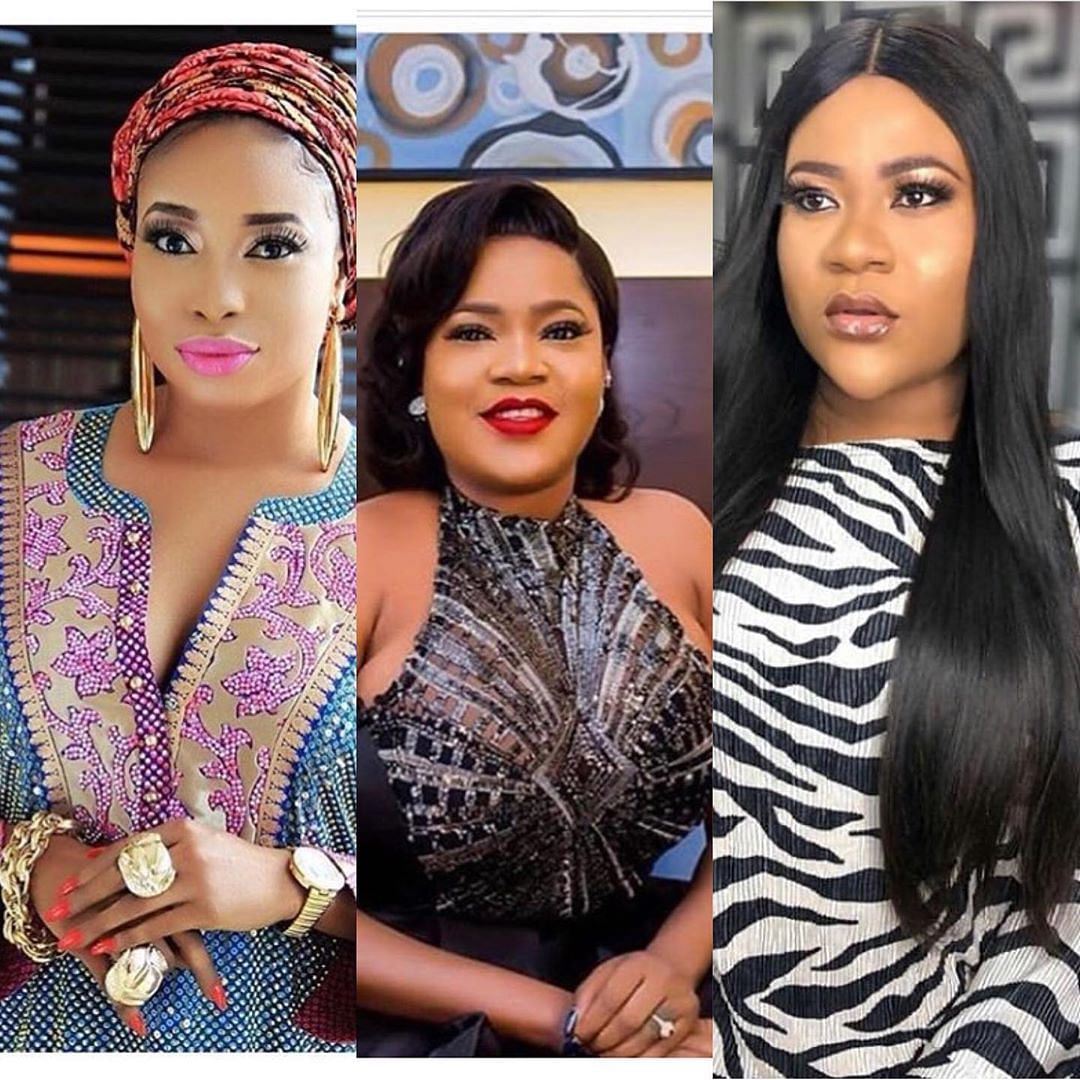 Nkechi Blessing Breaks Silence over Toyin Abraham's Fight