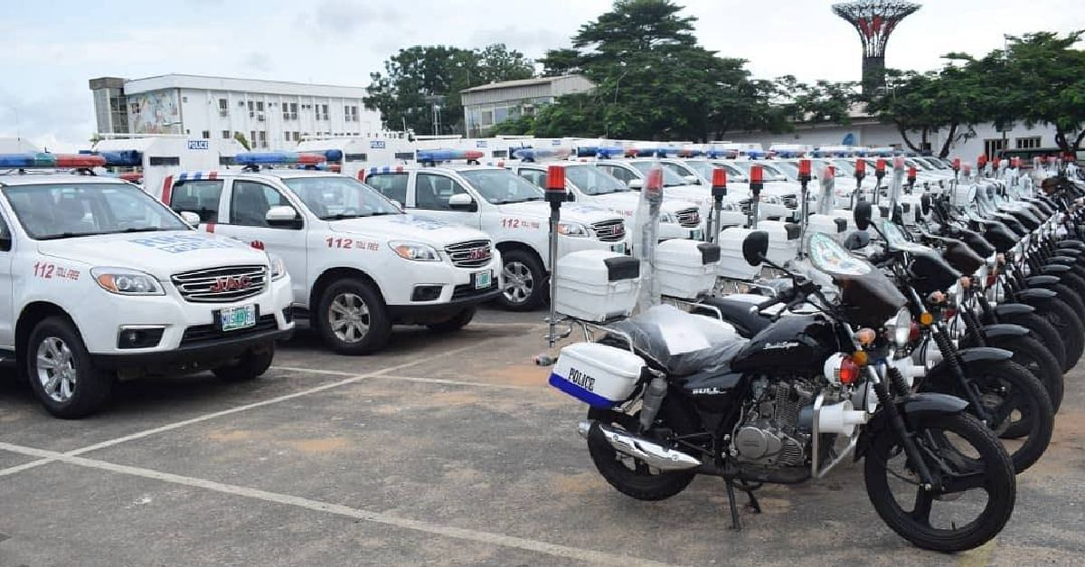 Patrol vehicles and motorcycles