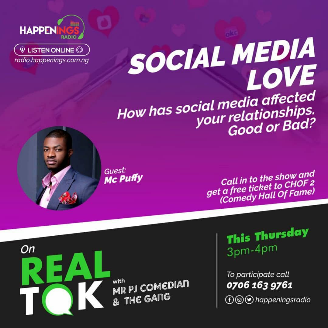 Real Tok With Mr. PJ And The Gang: How Has Social Media Affected Your Relationship?