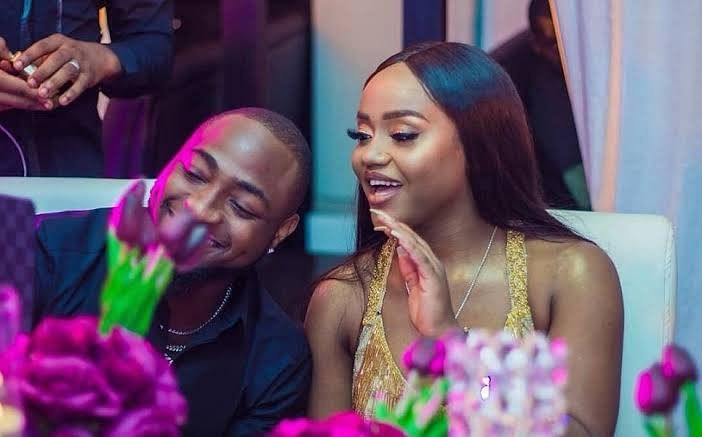 Nigerians React As Davido Suggests Marriage To Chef Chi