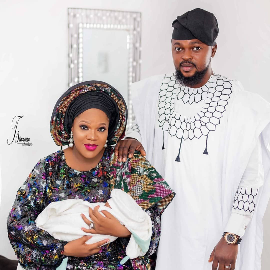 Toyin Abraham Shares First Family Photo Amidst Drama