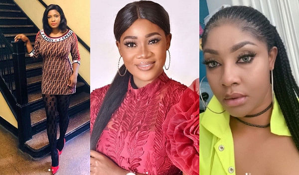 Actress, Angela Okorie, Calls Mercy Johnson A Witch
