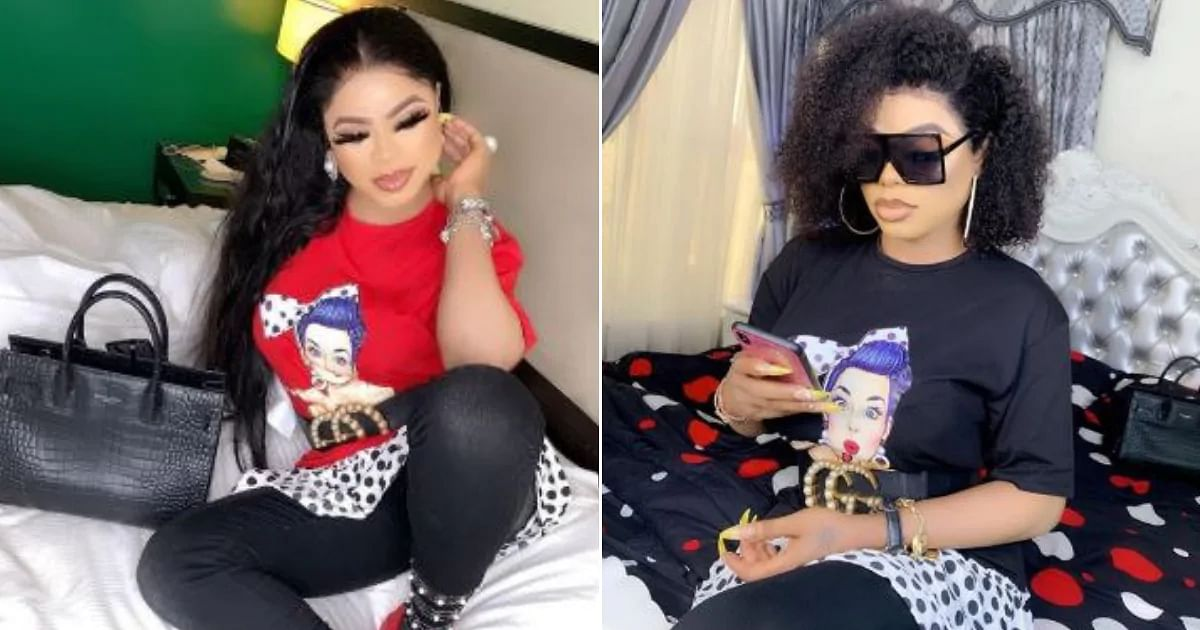 Bobrisky Reacts As Nigerian Youths Stage Protest Against Him