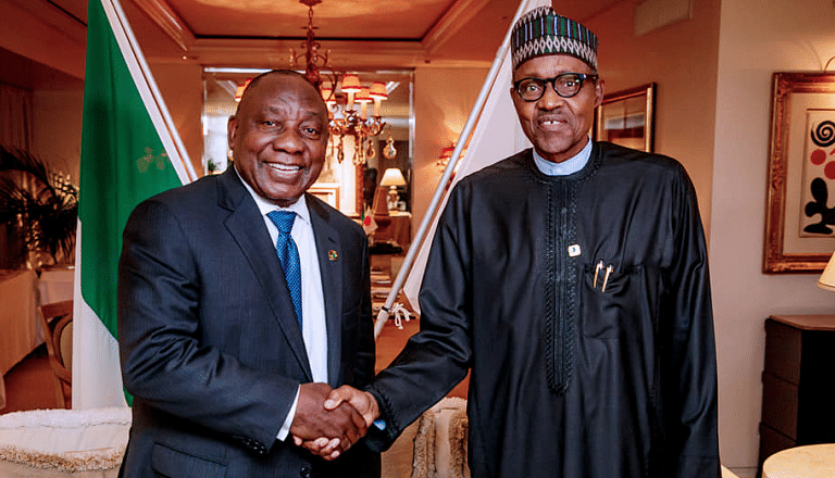 President Ramaphosa and Buhari