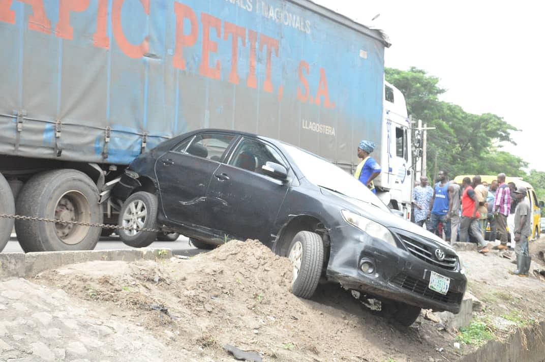 Two Injured In Accident Along Acme Road