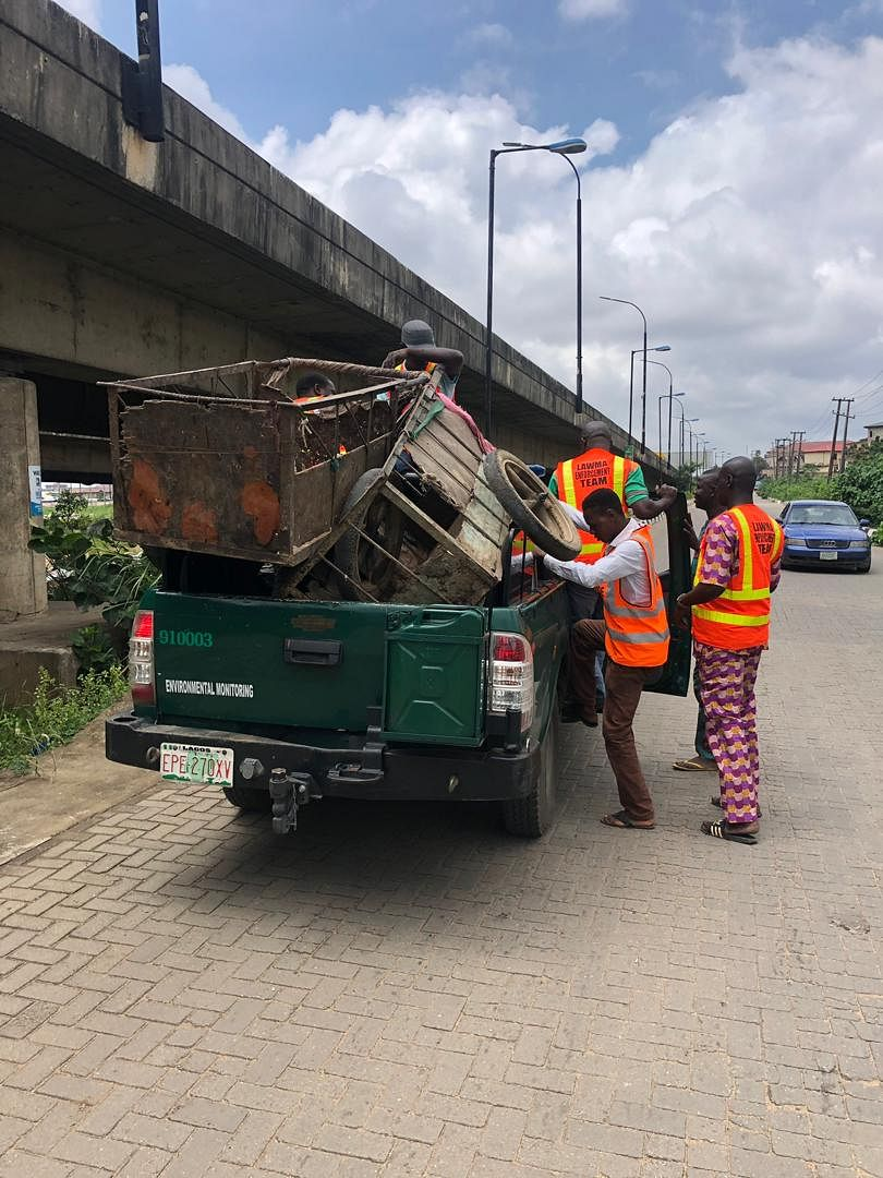 LAWMA Begins Seizure Of Carts From Cart Pushers