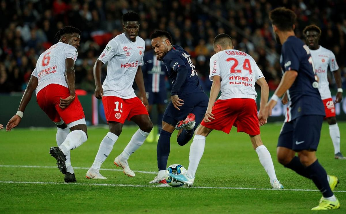 Reims Shock Hapless PSG At Home French League