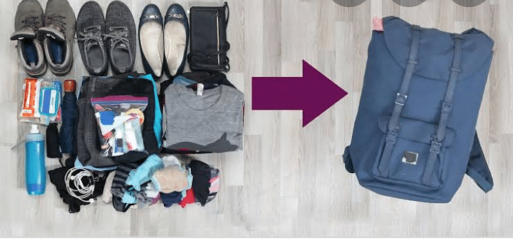 4 Simple Ways To Pack Light For A Trip