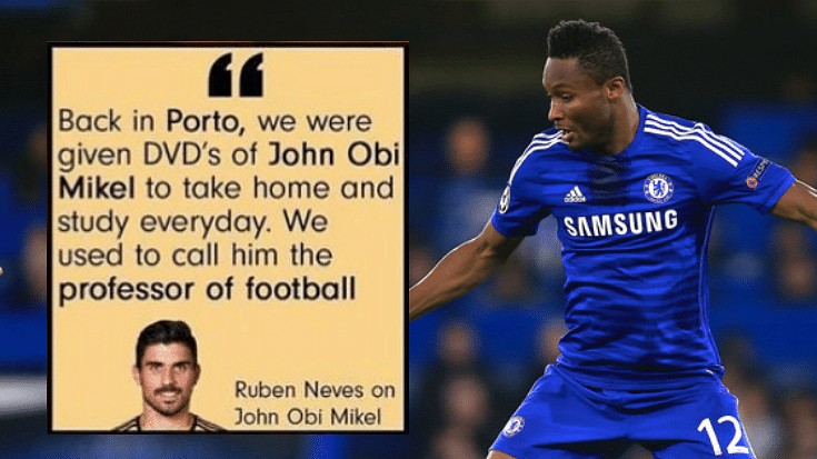John Obi Mikel Posts Fake Ruben Neves Quote On His Instagram Page