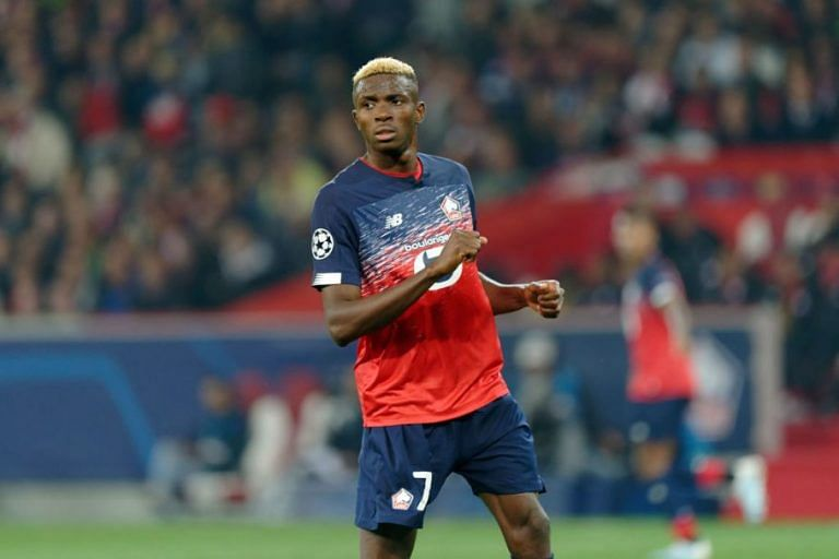 Osimhen Injured In Lille's 3-0 Win Over Samuel Kalu's Bordeaux