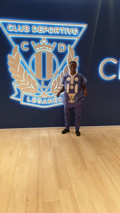 Makanjuola Unveiled By Leganes As He Finally Joins Omeruo And Awaziem