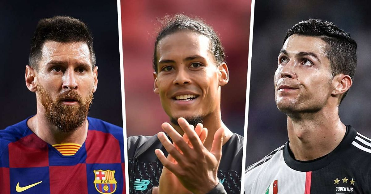 Ballon D'Or 2019: Messi, Ronaldo And Van Dijk Headline 30 Nominee List