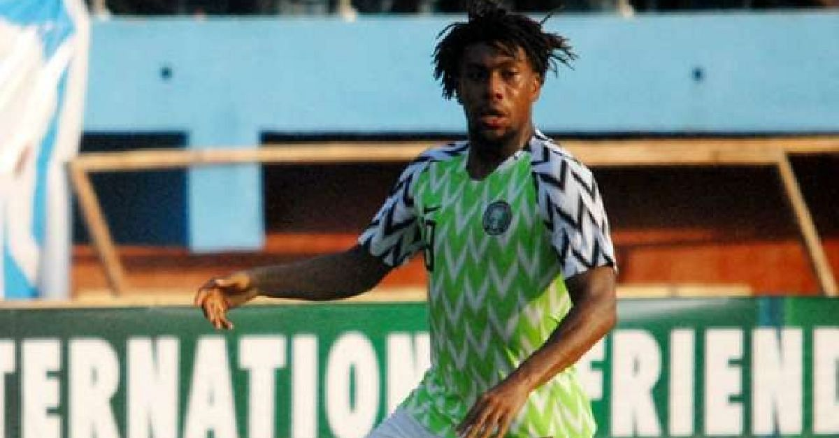 Alex Iwobi Identified As Super Eagles Key Man By Brazil Coach