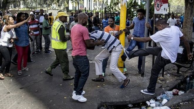 Xenophobia attack in South Africa