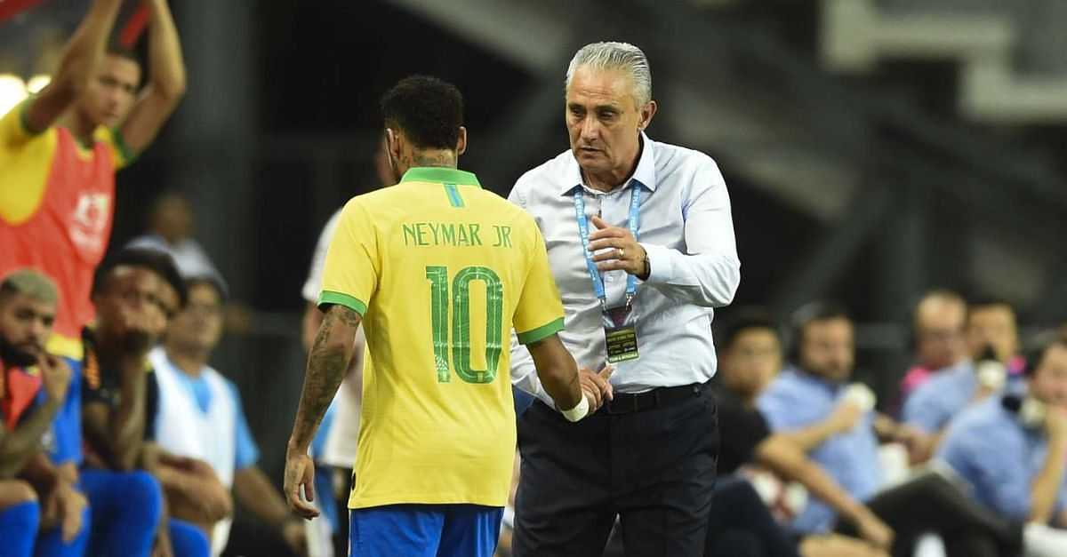 Concern As Neymar Limps Off Brazil's Friendly Against Nigeria